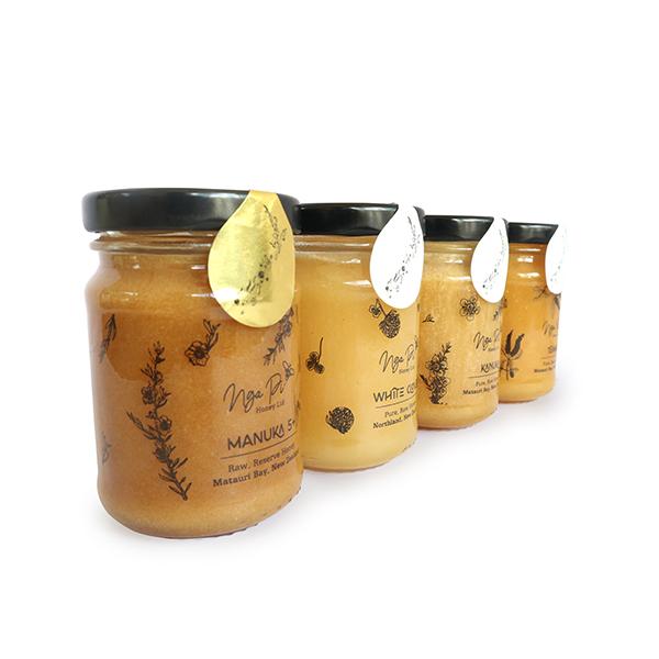 Nga Pi Honey New Zealand Honey Gift Jars