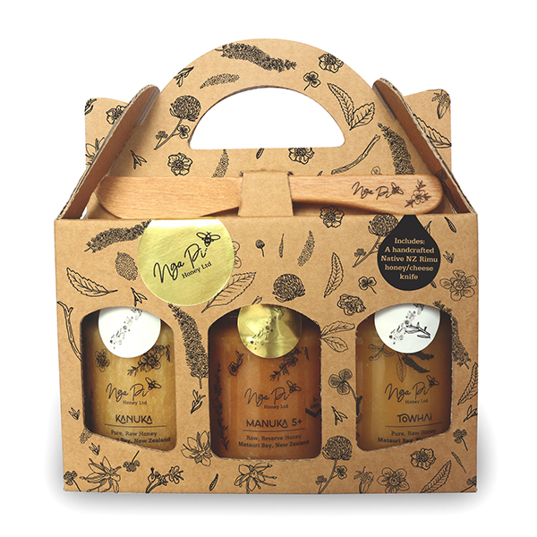 Nga Pi Honey New Zealand Honey Gift Pack