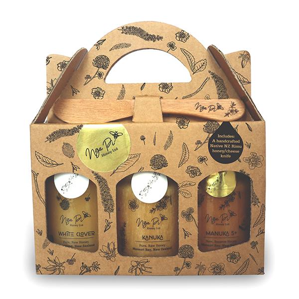 Nga Pi Honey New Zealand Honey Gift Pack