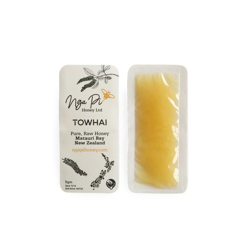 Nga Pi Honey New Zealand Towhai Honey Sachet
